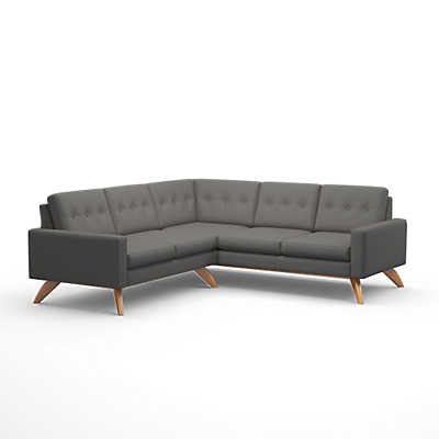 "Picture of Luna 91"" Corner Sectional by TrueModern"