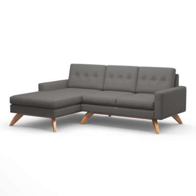 "Picture for Luna 90"" Sofa with Chaise by TrueModern"