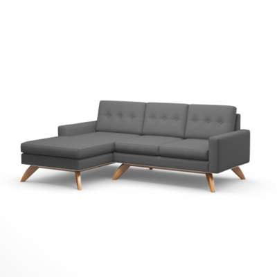 Picture for Luna Loft Sofa with Chaise by TrueModern