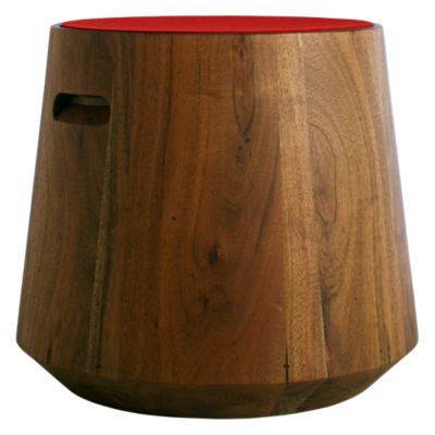 TN1STOOLX-MG: Customized Item of Turn Stool with Felt Top by Blu Dot (TN1STOOLX)