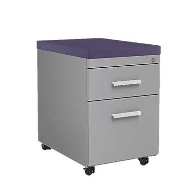 Picture of Mobile File Cabinet with Cushion Top by Steelcase