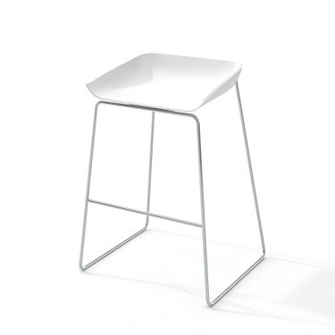 TS30701-6618-GREY-SG: Customized Item of Turnstone Scoop Stool by Steelcase (TS30701)