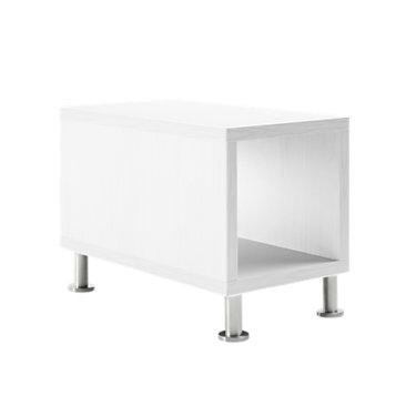 TS31415L-VIRGINIA WALNUT-ALUMINUM: Customized Item of Turnstone Jenny End Table by Steelcase (TS31415L)