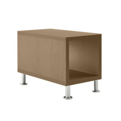 TS31415L-VIRGINIA WALNUT-ALUMINUM: Customized Item of Turnstone Jenny End Table by Steelcase (TS31415L)