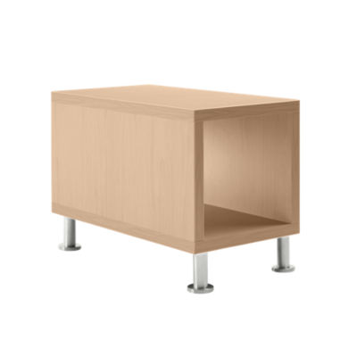 TS31415L-WINTER ON MAPLE-ALUMINUM: Customized Item of Turnstone Jenny End Table by Steelcase (TS31415L)