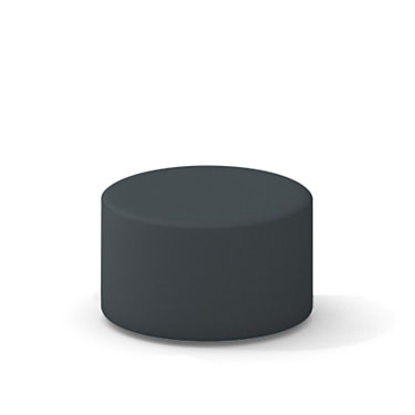 TS34401X-GRAPHITE: Customized Item of Turnstone Campfire Ottoman by Steelcase (TS34401X)
