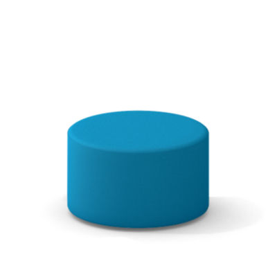 TS34401X-BLUE JAY: Customized Item of Turnstone Campfire Ottoman by Steelcase (TS34401X)