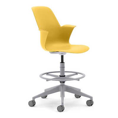 Picture of Node 5-Star Base Stool by Steelcase