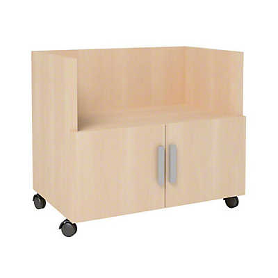 Turnstone Currency Mobile Cart With Doors By Steelcase