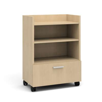 Picture for Currency Tall Mobile Cart with Lateral Drawer by Steelcase