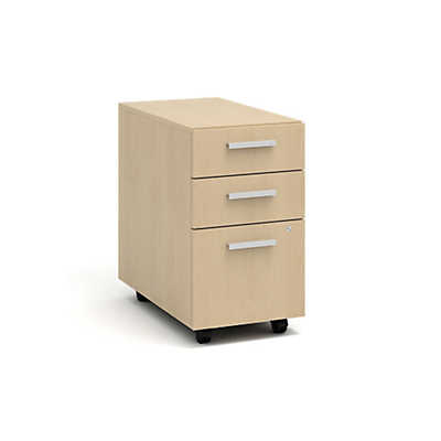 Picture of Currency Mobile Pedestal with Two Box Drawers and One File Drawer by Steelcase