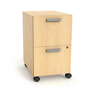 Picture of Currency Mobile Pedestal with Two File Drawers by Steelcase