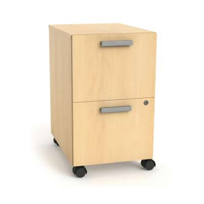 Picture for Currency Mobile Pedestal with Two File Drawers by Steelcase