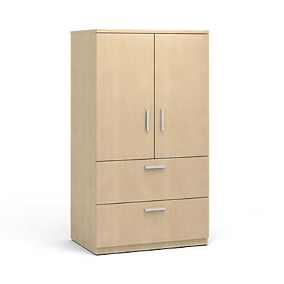 "Picture of 36"" Wide Currency Storage Cabinets with Lateral File by Steelcase"