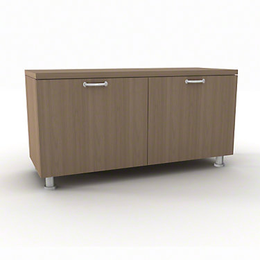 TS5TLSD36-CLEAR WALNUT-NH-N: Customized Item of Currency Lower Storage Cabinets by Steelcase (TS5TLS)