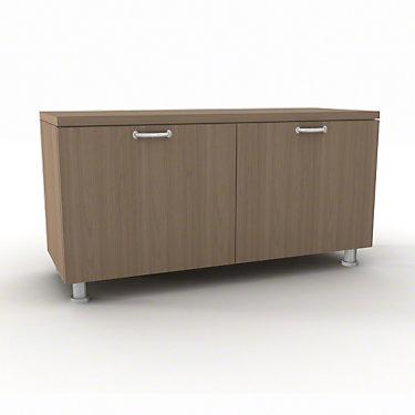 TS5TLSD42-VIRGINIA WALNUT-PB-N: Customized Item of Currency Lower Storage Cabinets by Steelcase (TS5TLS)