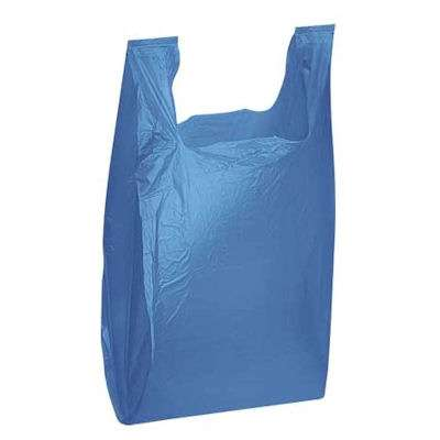 Picture for Medium Plastic T-Shirt Bags with Handles by Smart Fixtures