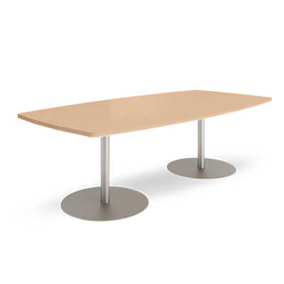 Picture of Groupwork 96in Boat Shaped Conference Table by Steelcase