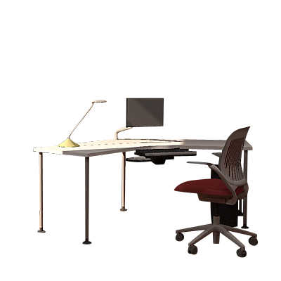 Picture of Tour 120-Degree Desk