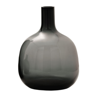 Picture of Bolo Glass Vase, Medium Smoke