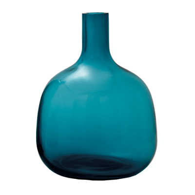 Picture of Bolo Glass Vase, Medium Turquoise
