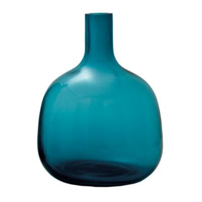 Picture of Bolo Glass Vase, Medium Turquoise