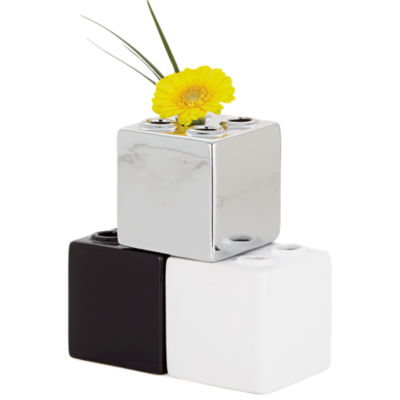 Picture of Block Square Stacking Multi Vase