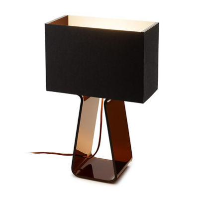 TUBETOPCLASSICT-14-CHARCOAL-CHARCOAL: Customized Item of Tube Top Classic Table Lamp (TUBETOPCLASSICT)