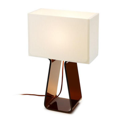 TUBETOPCLASSICT-14-WHITE-CHARCOAL: Customized Item of Tube Top Classic Table Lamp (TUBETOPCLASSICT)