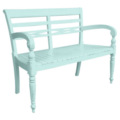 TW211WS-RW: Customized Item of Raffles Two Seat Bench (TW211WS)