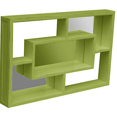 Picture of Sanibel Mirrored Wall Shelf