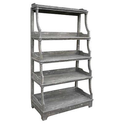Open Stacked Display Shelf Smart Furniture