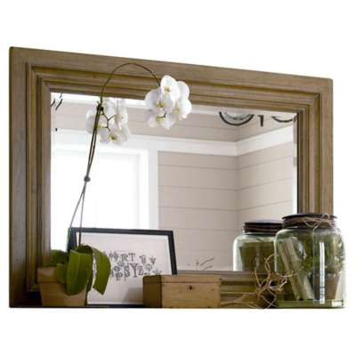 Picture for Down Home Oatmeal Landscape Mirror