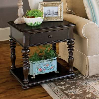 Picture for Paula Deen Home Tobacco Rectangular End Table