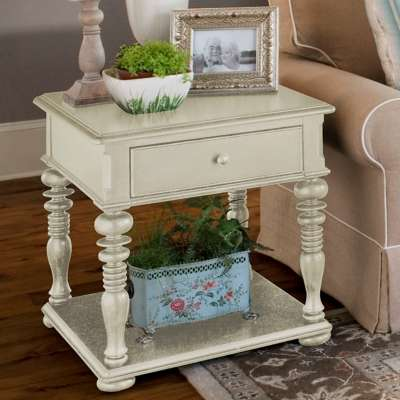 Picture for Paula Deen Home Linen Rectangular End Table
