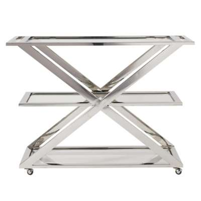Picture for Modern Draper Bar Cart by Universal