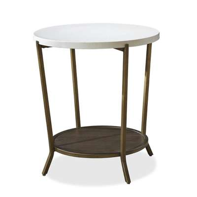 Picture for Playlist Round End Table by Universal