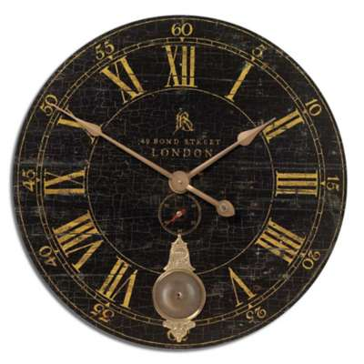 Picture for Bond Street Clock by Uttermost