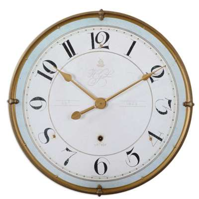 Picture for Torriana Wall Clock by Uttermost