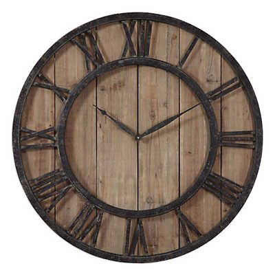 Picture of Powell Wooden Wall Clock