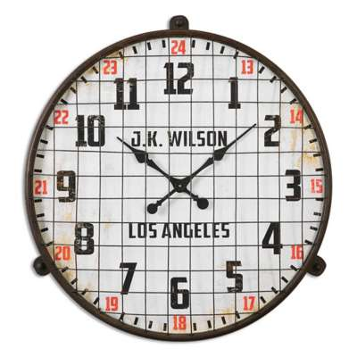 Picture for Max Wall Clock by Uttermost