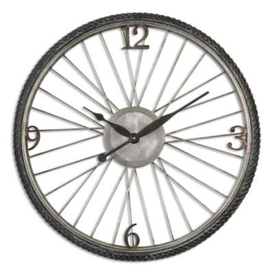 Picture for Spokes Wall Clock by Uttermost