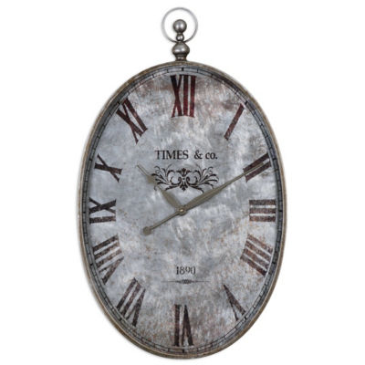 Picture of Argento Wall Clock by Uttermost