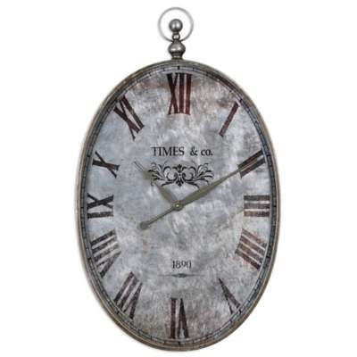 Picture for Argento Wall Clock by Uttermost