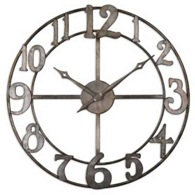 Picture for Delevan Wall Clock by Uttermost