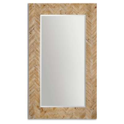 Picture for Demetria Oversized Wooden Mirror