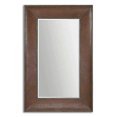 Picture of Draco Oversized Leather Mirror