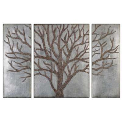 Picture for Winter View Wall Decor, Set of 3 by Uttermost