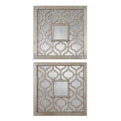 Picture for Sorbolo Squares Wall Decor, Set of 2 by Uttermost