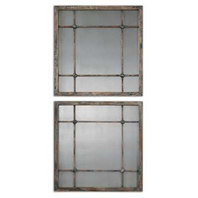 Picture for Saragano Squares, Set of 2 by Uttermost